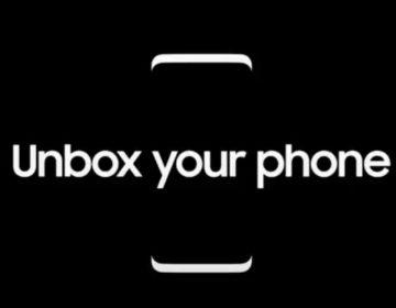 официальный рендер Samsung Galaxy S8