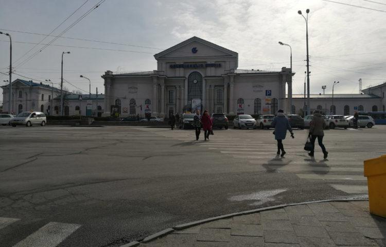 пример фото Huawei Honor 8 - Вильнюс, вокзал