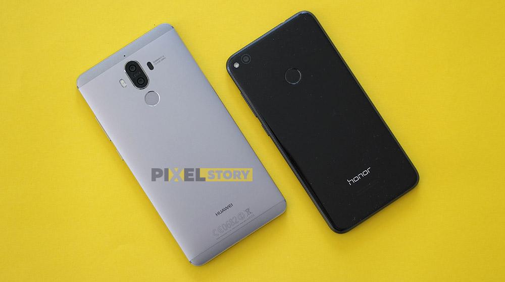 Honor 8 Lite и Huawei Mate 9