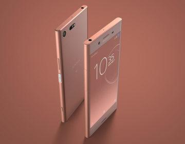 Xperia XZ Premium бронзово-розовый