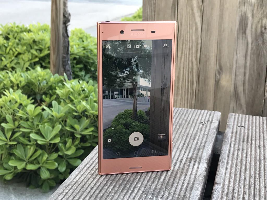 Живые фото Xperia XZ Premium Bronze Pink