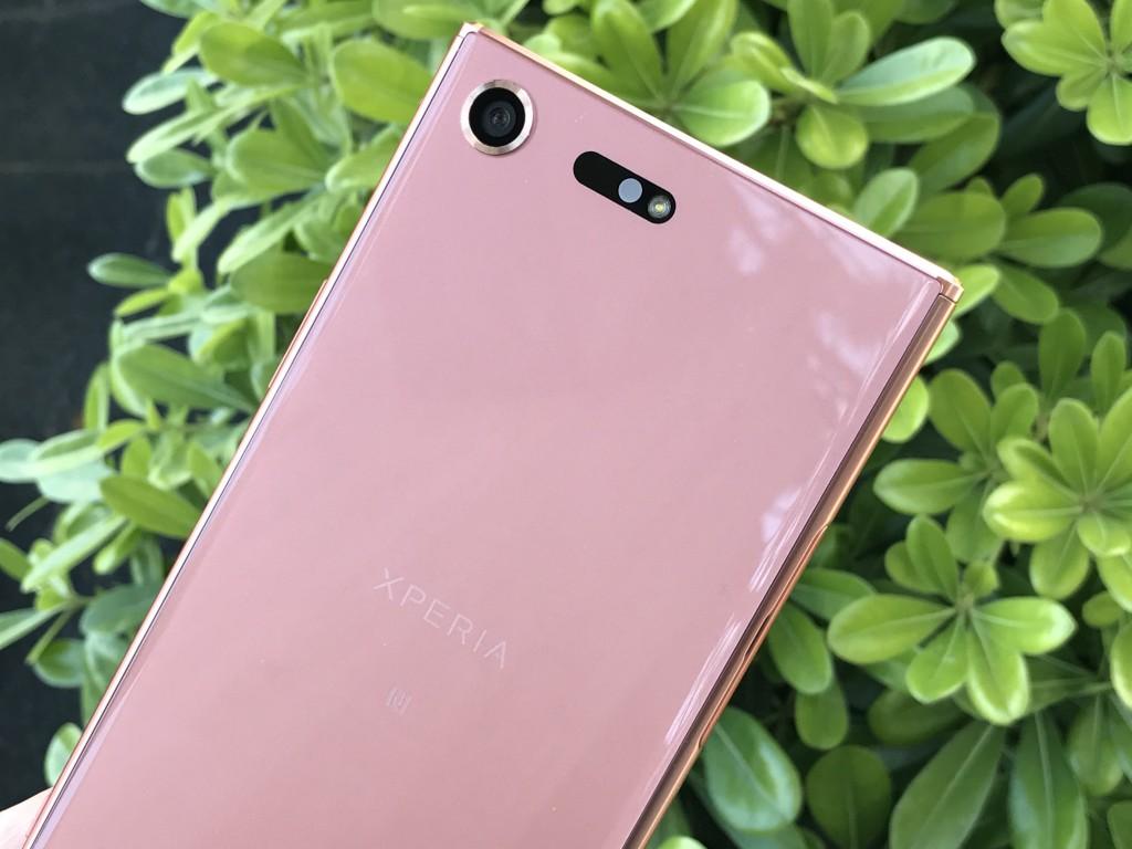 камера Xperia XZ Premium Bronze Pink