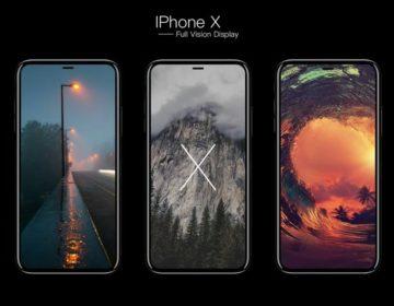 Рендер Apple iPhone 8