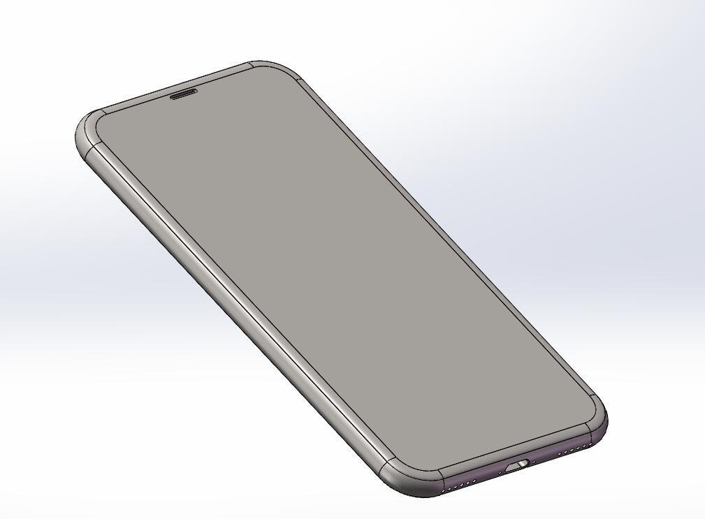3D модель iPhone 8