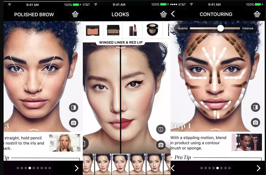 дополненная реальность в макияже
