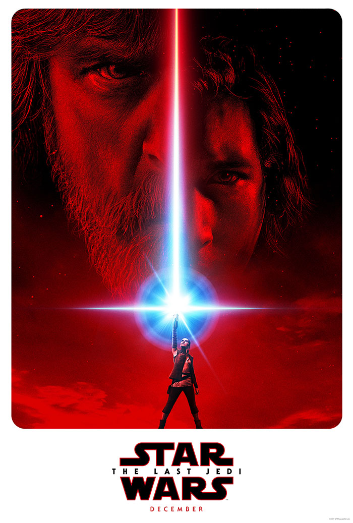постер Звездные войны Последний Джедай