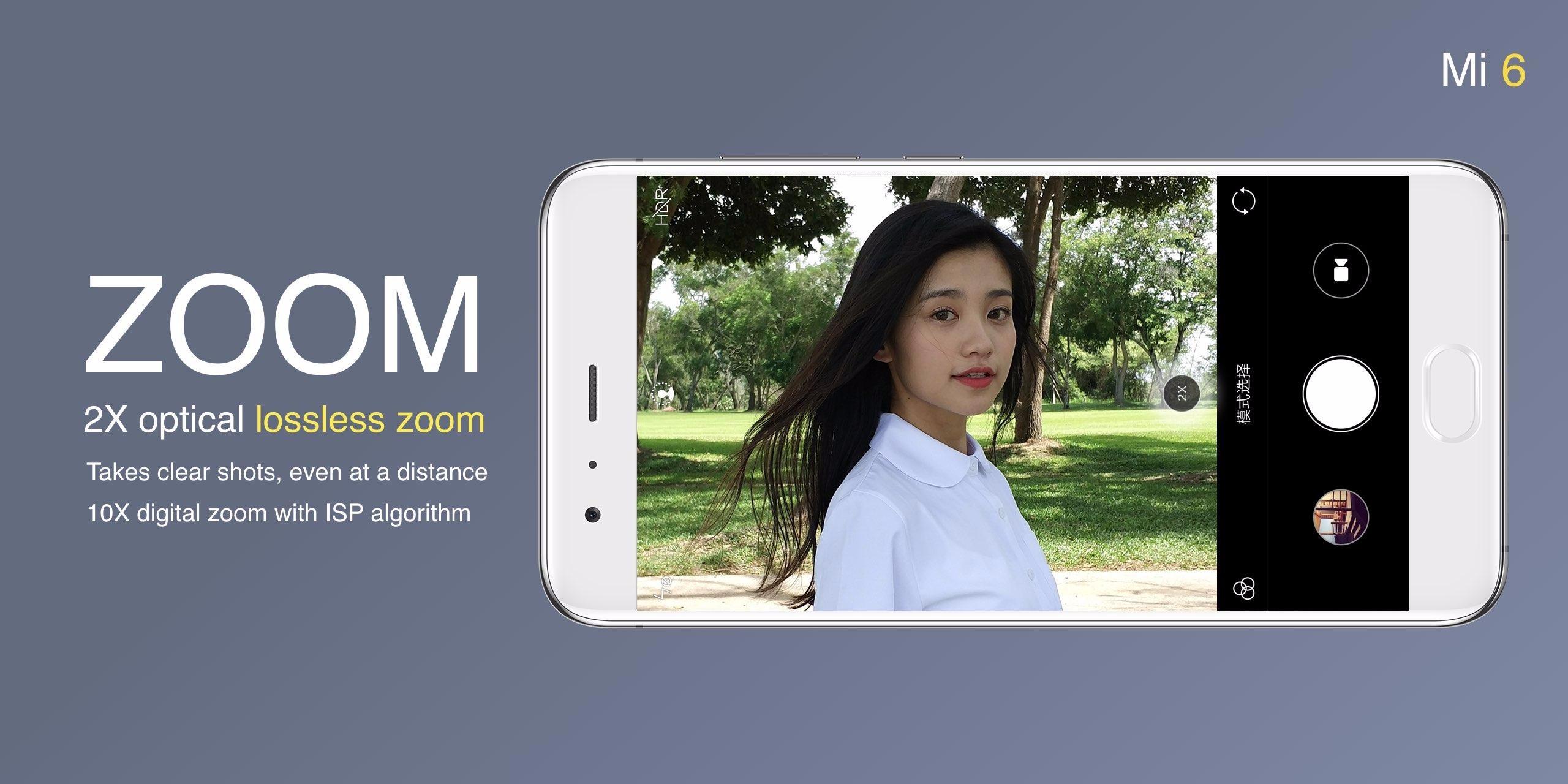 Анонс Xiaomi Mi 6 - двойная камера