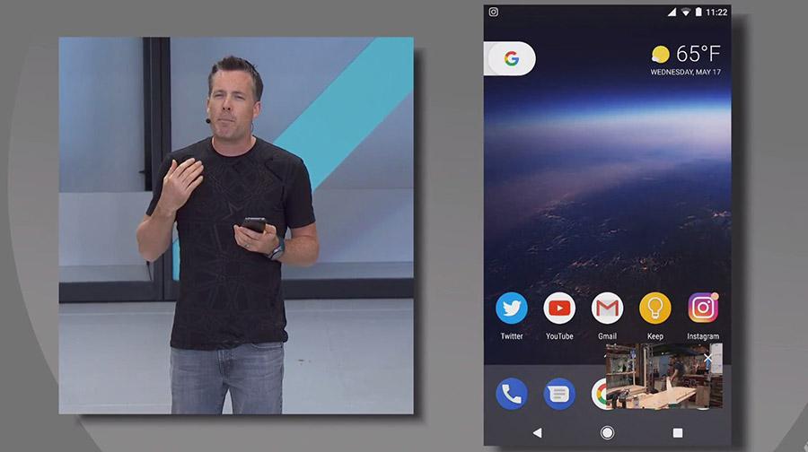 Android O Beta - картинка в картинке