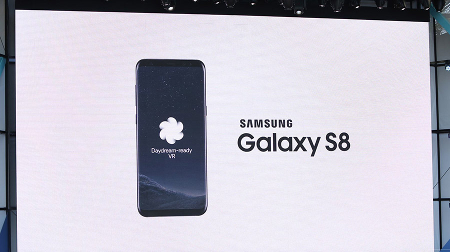 DayDream View и Galaxy S8