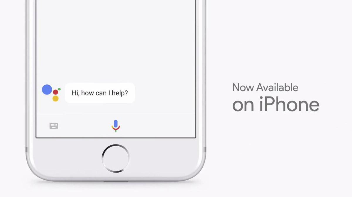 Google Assistant на iOS