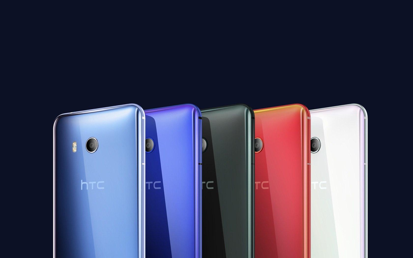 Дизайн HTC U11