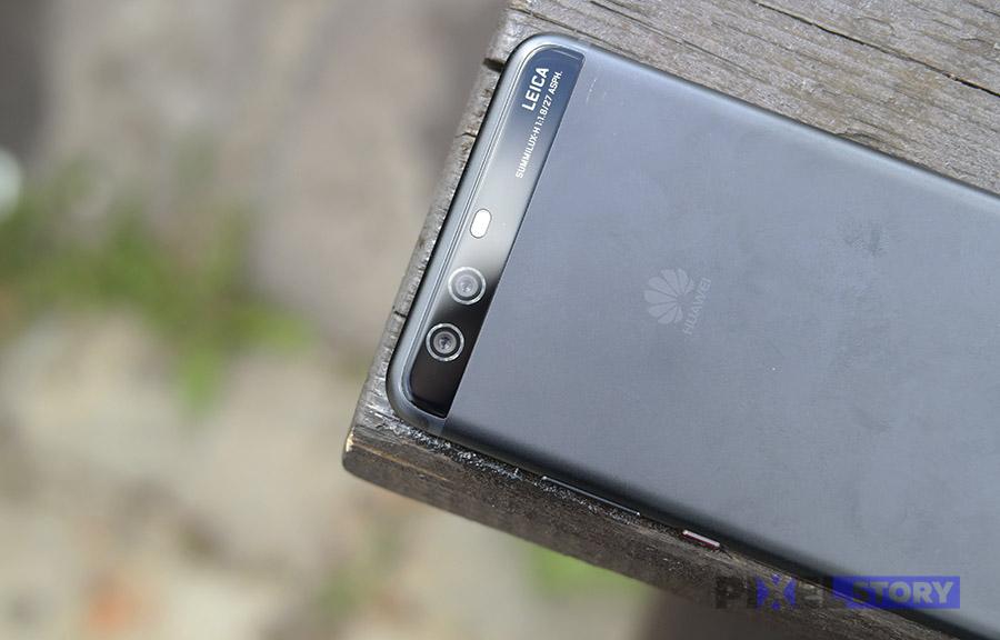 Обзор Huawei P10 Plus - стеклянная полоска