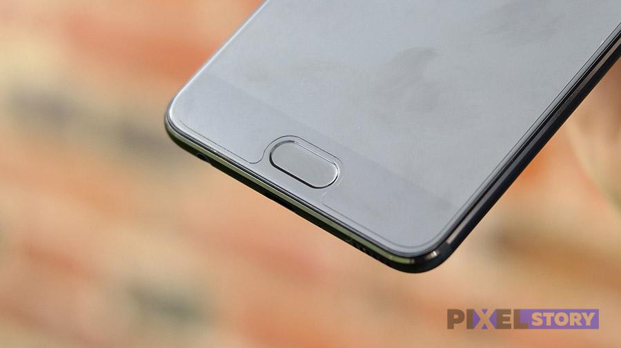 Обзор Huawei P10 Plus - кнопка Home