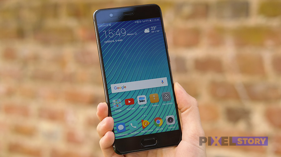Обзор Huawei P10 Plus - качество экрана