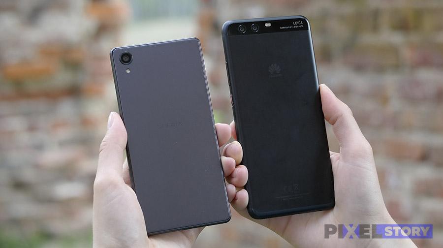 Сравнение Sony Xperia X и Huawei P10 Plus