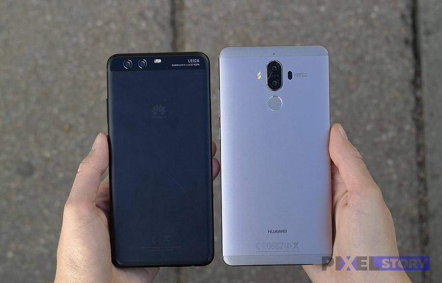 Huawei P10 Plus vs Huawei Mate 9