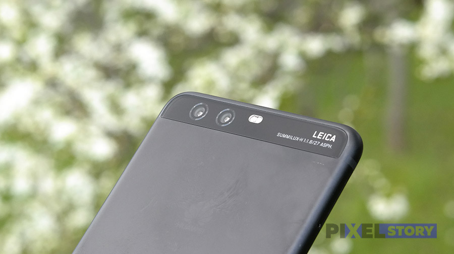 Обзор Huawei P10 Plus - двойная камера