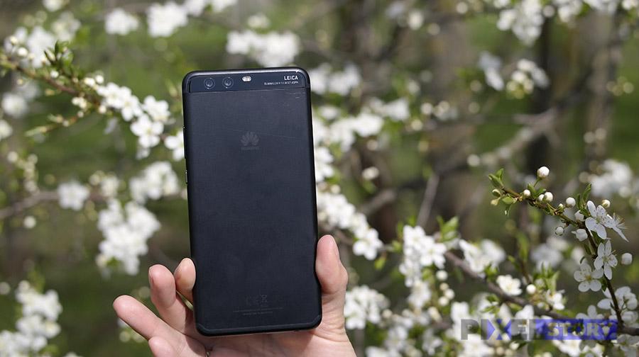 Обзор Huawei P10 Plus и сакура