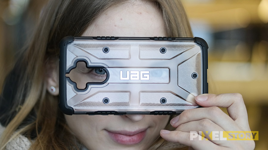 Обзор чехла Urban Armor Gear Plasma