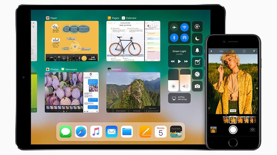 iPad Pro на iOS 11