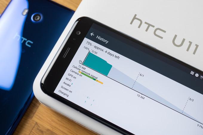 Время работы HTC U11