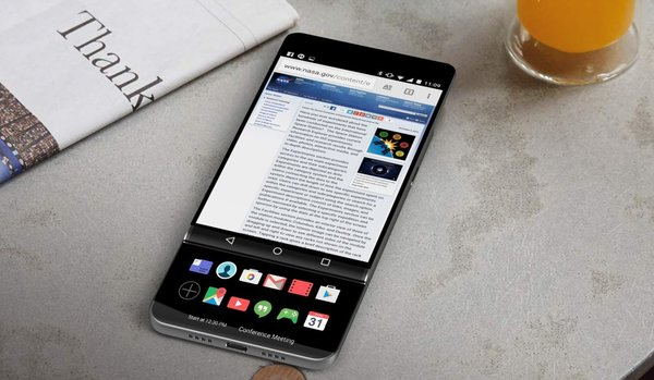 рендеры LG V30
