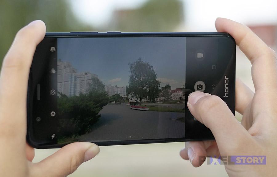 Обзор Honor 8 Pro - как работает камера