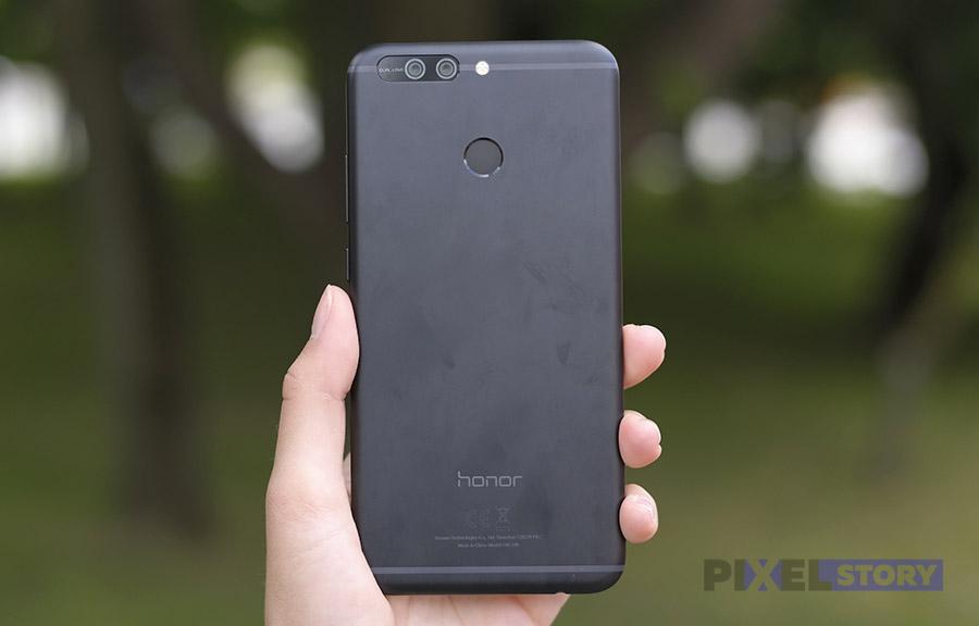 эргономика Honor 8 Pro