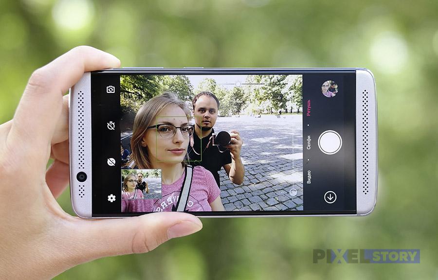 Фронтальная камера ZTE Axon 7 mini