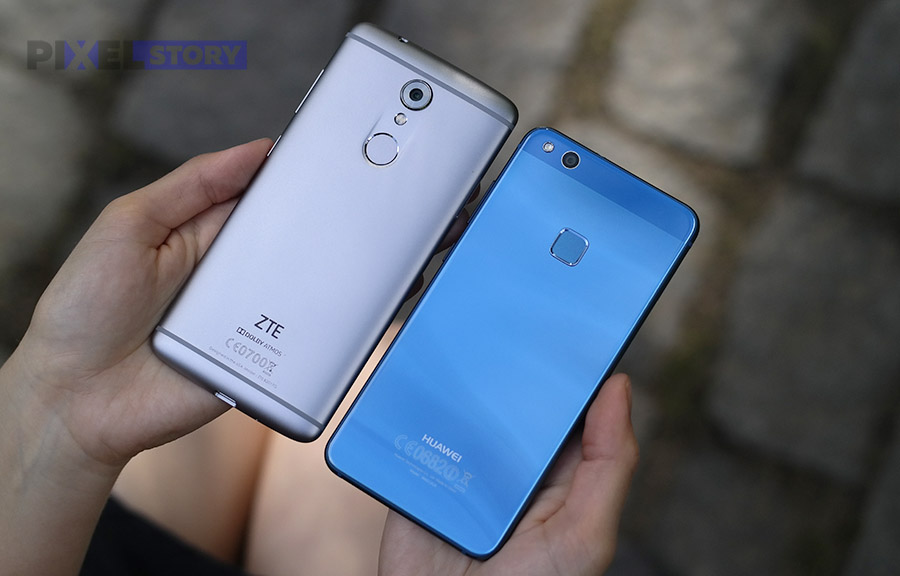 ZTE Axon 7 mini и Huawei P10 Lite - внешний вид