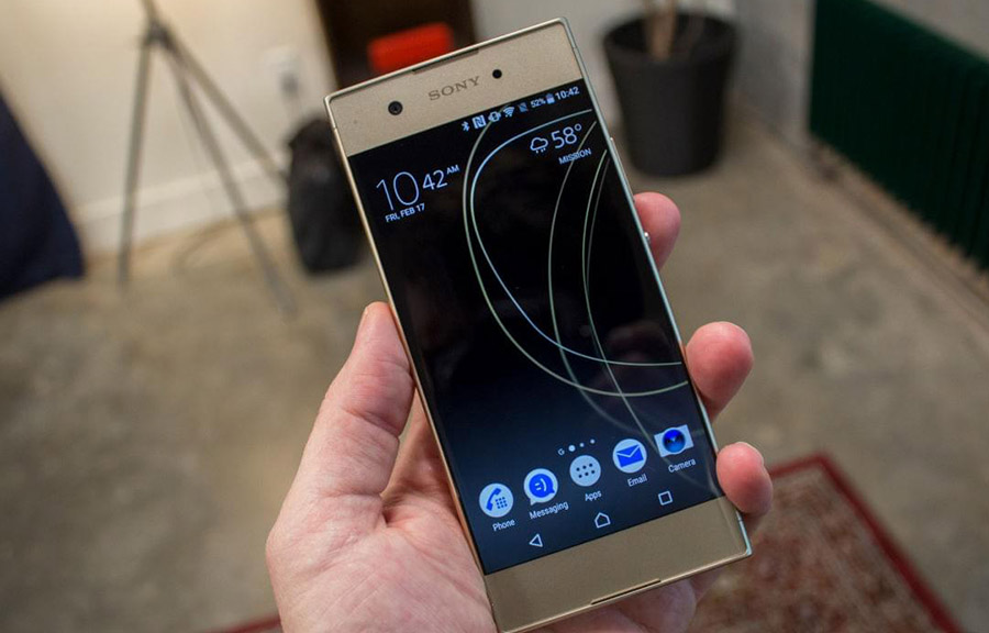 Xperia XA1 - топ-5 смартфонов Sony