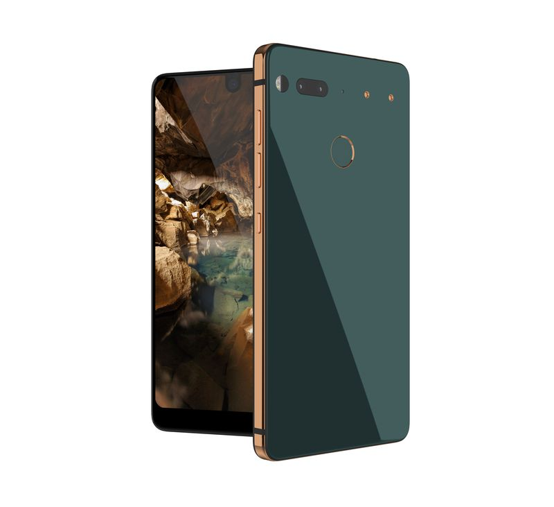 зеленый Essential Phone анонс