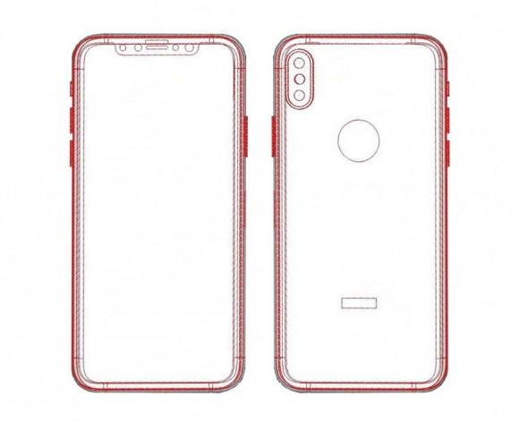 рендеры iphone 8