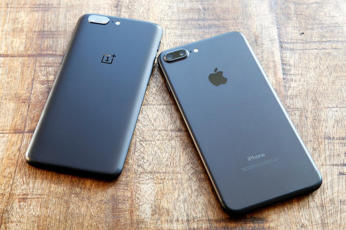 OnePlus 5 - копия iPhone 7 Plus