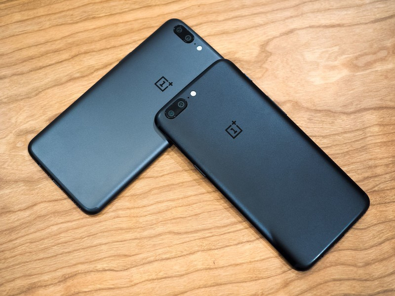 Цвета OnePlus 5 - Midnight Black и Slate Gray