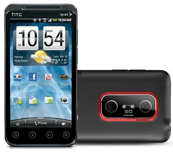 двойная камера HTC Evo 3D