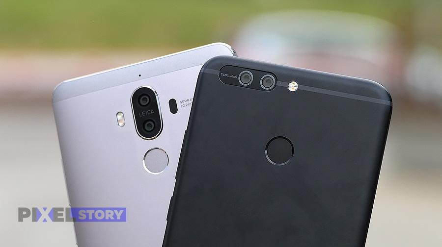 Сравнение камер - победитель Huawei Mate 9