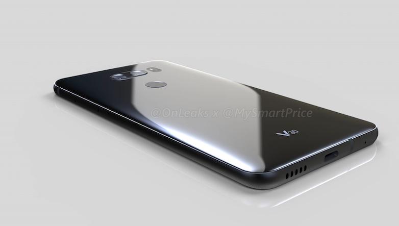 Дизайн LG V30