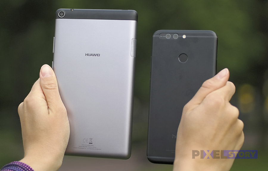 Huawei MediaPad T3 7 и Honor 8 Pro