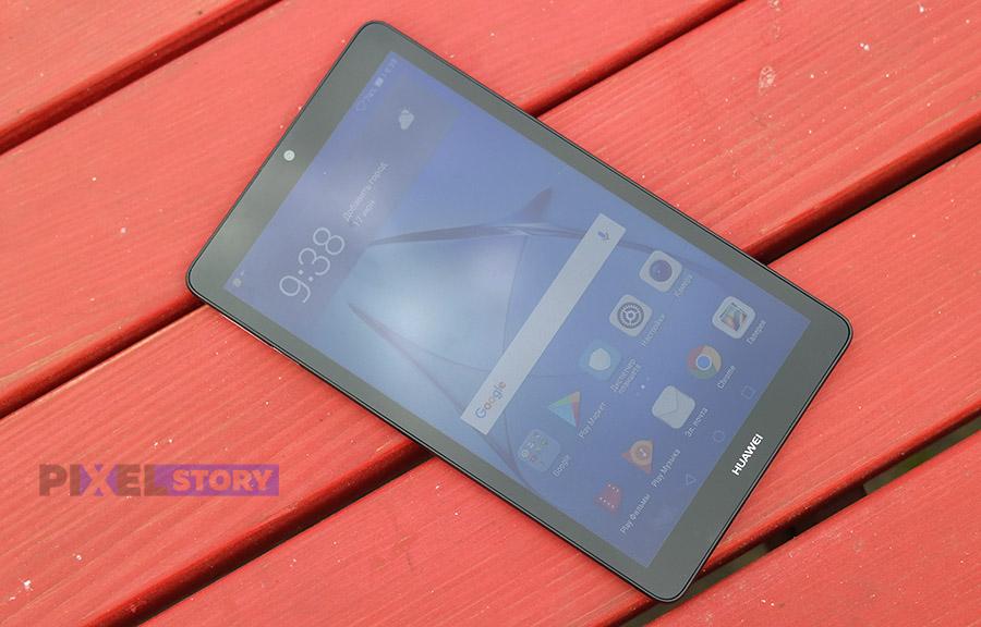 Качество экрана Huawei MediaPad T3 7