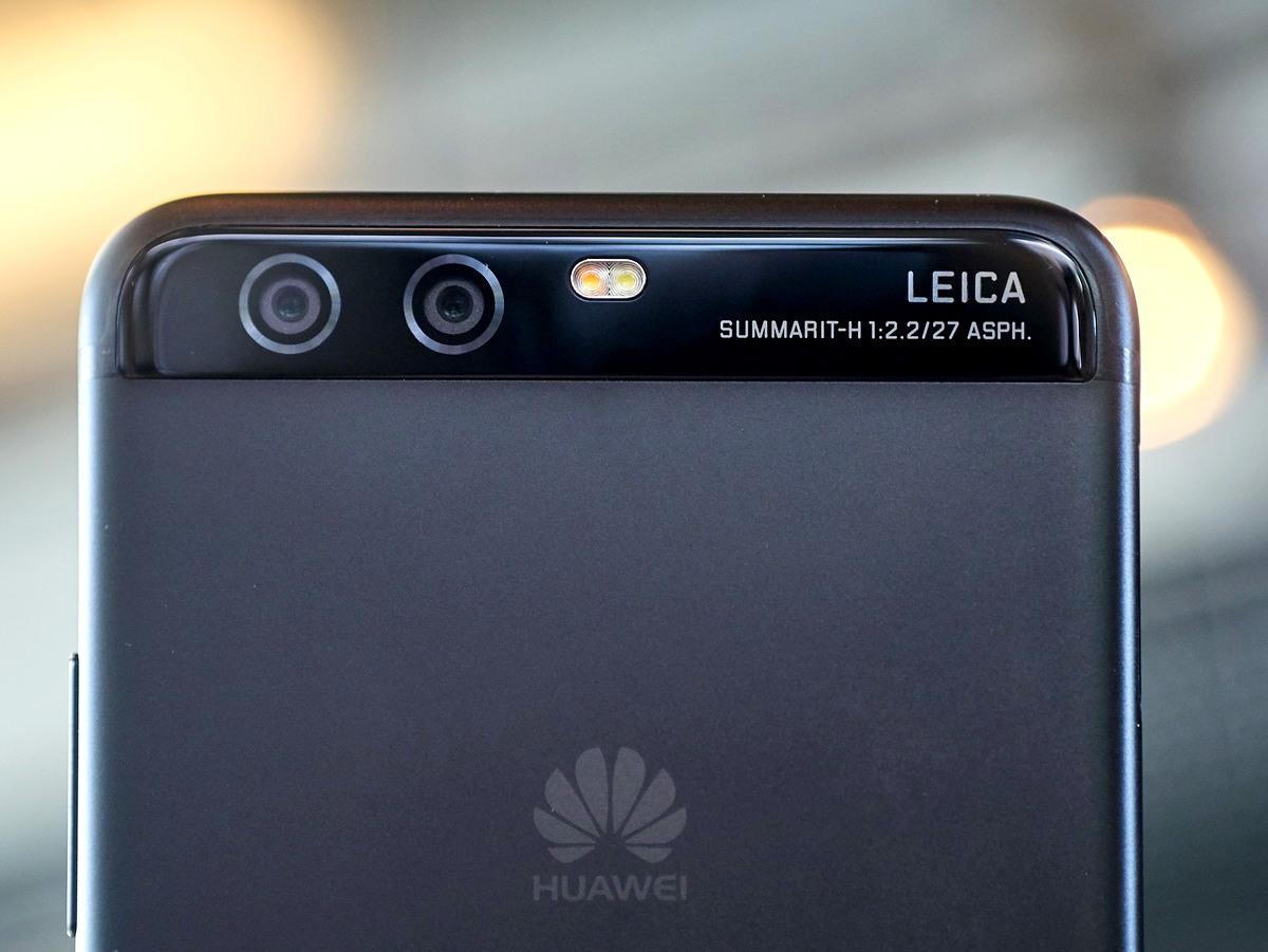 двойные камеры, Huawei P10