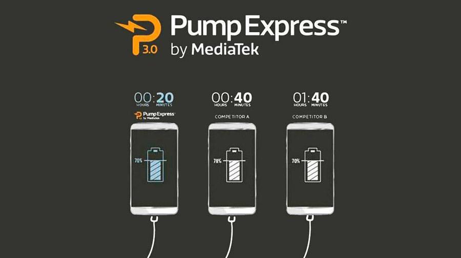 Быстрая зарядка Pump Express