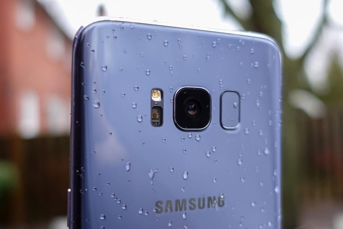 камерофон, Samsung Galaxy S8