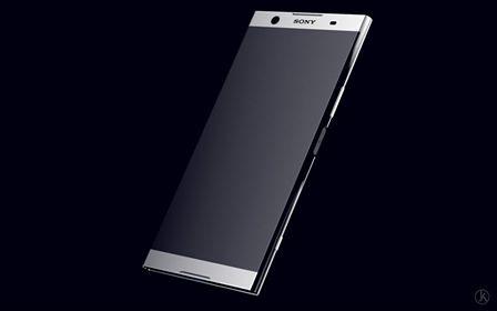Безрамочный концепт флагмана Sony Xperia
