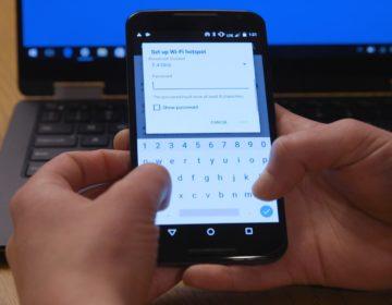 Как настроить точку доступа на Android