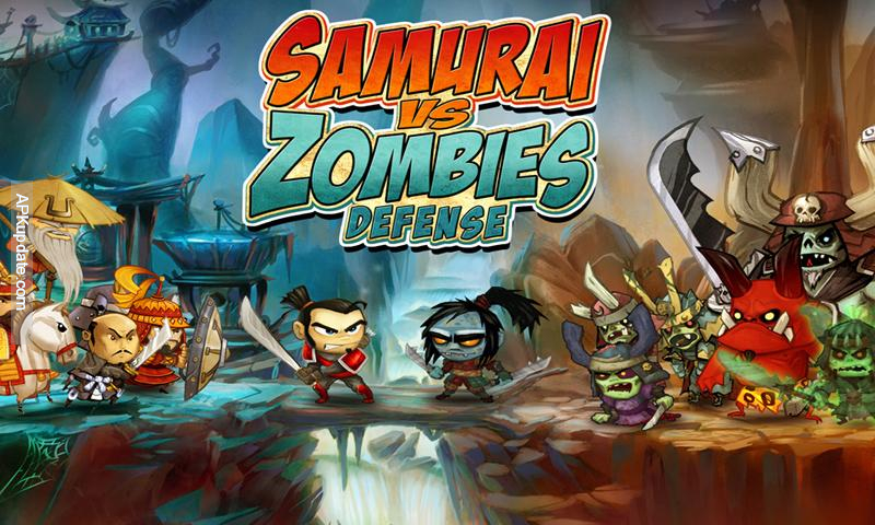 Samuray vs zombies Defense