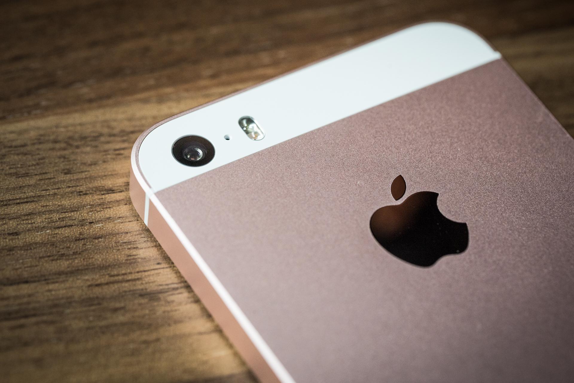 камерофон, iPhone SE
