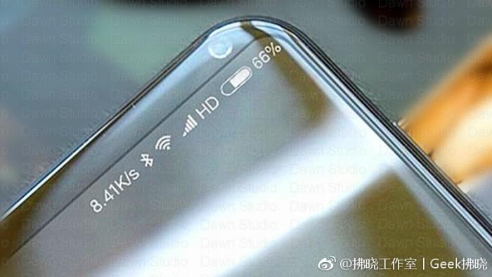 Xiaomi готовит супер-флагман с безрамочным экраном