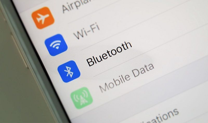 Bluetooth, iPhone