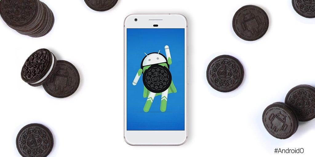 Android 8.0 Oreo, название